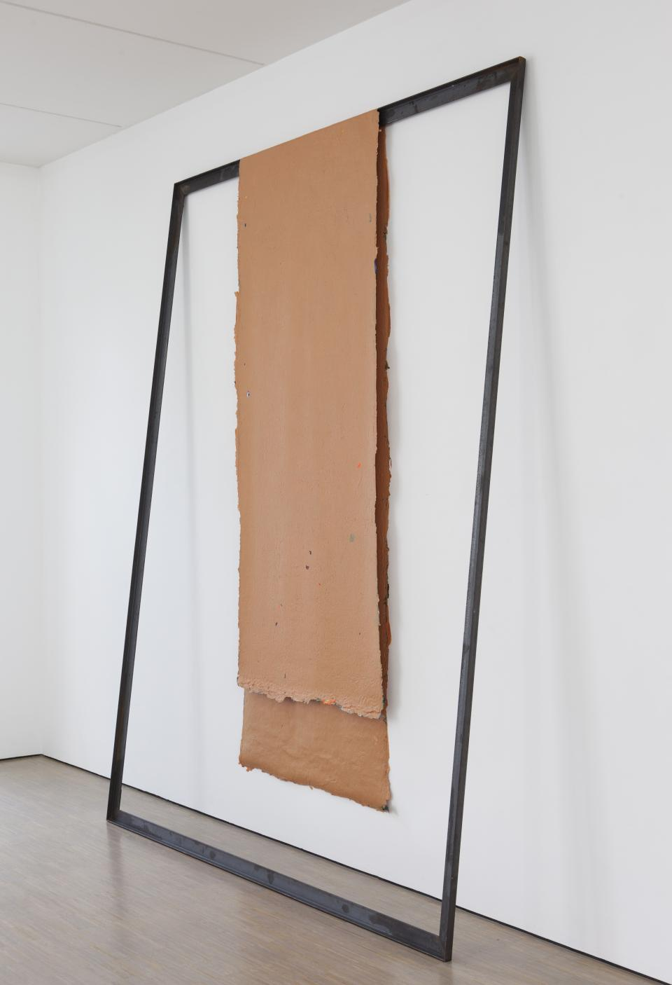 no title (120915), 2015, acrylic paint, angle steel,290 x 220 cm