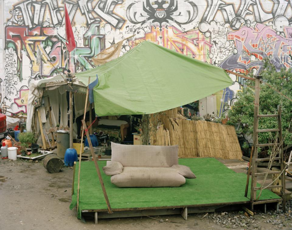 CONVOI Osterinsel, Sofa, Köln , 2008,Lambda Print, laminated on wood,100 x 80 cm